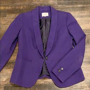 Loft purple blazer